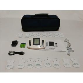 Tens Ems Electroestimula Celulitis Masajea Maletin 16pad Pil