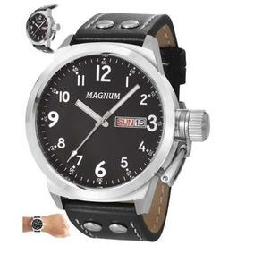 3dff7366637 Relogios Masculinos Baratos - Relógio Magnum Masculino no Mercado ...