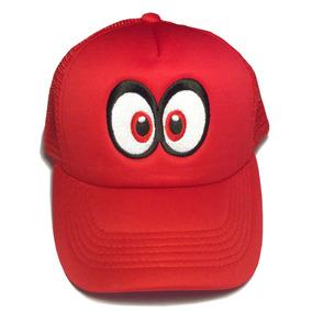 Gorra Trucker Odyssey Cappy M Mario Bros, Luigi, Bordada
