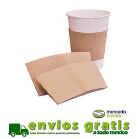 Fajillas Pegada Para Vaso De Cafe 12, 16 Y 20 Oz Con 1000 Pz