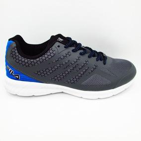 Tenis Fila Memory Speedstride 1rm00014-057 Gris Azul Negro