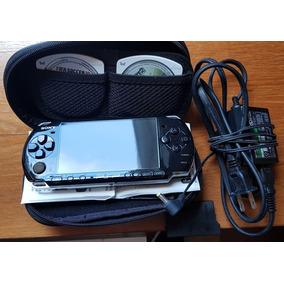 Psp 3000 Usa Desbloqueada + Case + Película + Bateria + Card