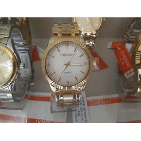 Relógio Chenxi Dourado Banhado A Ouro Prova D