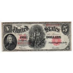 Estados Unidos 5 Dollares Pick 186