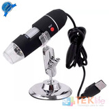Microscopio Digital Potente Usb 400x Hd Luz Led Pc Tablet 2
