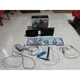 Wiiu De 32 Gb Con 5 Juegos.