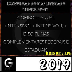 Carreira Juridica 2019 G7 Brinde 2018