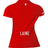 Camisa Polo Torcedor Feminino Internacional Com Nome Laine 5c9b530fe65ee