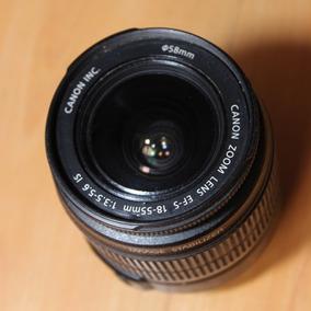 Lente Canon 18-55 (sin Autofoco)