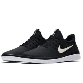 Tênis Nike Sb Nyjah Free Black/white