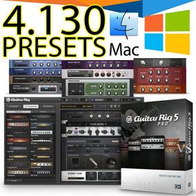 4100 Presets Guitar Rig 5 Para Windows Ou Mac