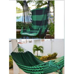 Kit 02 Redes De Casal + 02 Rede Cadeira De Balanço + Brinde