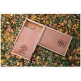 Caja De Madera Grabada Para Fotos 4x6 Y 5x7 5 Pzs
