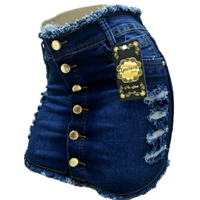 Roupas Femininas Atacado Kit 03 Saia Jeans Plus Size 36ao54