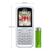 Celular Antigo Nokia 5070 Desbloqueado (novo) Bom De Sinal