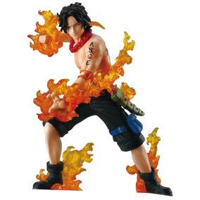Portgas D Ace One Piece Action Figure Bandai Na Caixa