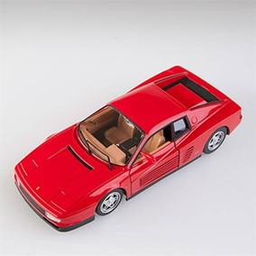 Miniatura Ferrari Testarossa 1984 Vermelha