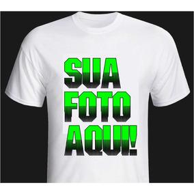 10 Camiseta Personalizada Cor Branca P Ao Gg