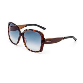 acc7475fe Óculos De Sol Fórum Feminino Marrom Demi Com Azul - Óculos De Sol no ...