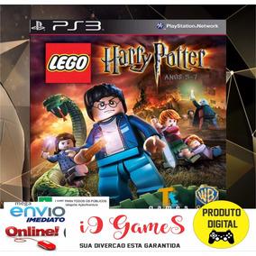 Jogo Lego Harry Potter Midia Digital Ps3 Código Psn Hoje !!!