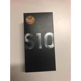 Samsung Galaxy S10 128gb Preto Modelo: Sm-g973f
