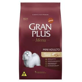Ração Gran Plus Raças Pequenas Adulto Frango E Arroz 3kg