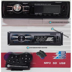 Reproductor Pioneer De Carro Usb Aux Radio Control Bluetooth