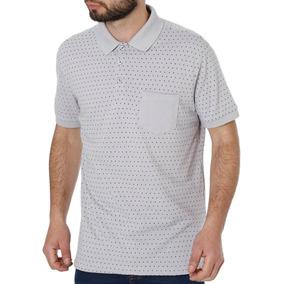 Camisa Polo Manga Curta Masculina Vels Cinza 66d9e2bfb887a