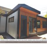 Cabañas De Madera Tipo Containers Construccion En Seco Casas