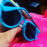 bc57e7ee5e77c Novo - Óculos Camurça (veludo) R-b Rosa Ou Azul