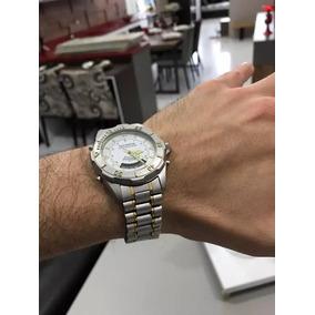 8c782a131c1 Technos Skydiver Professional Detalhes Dourado - Relógios no Mercado ...