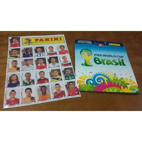 Álbum Completo Copa Do Mundo 2014 Com Cromos Extras