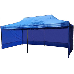 Toldo Plegable 3 X 6 Paredes Carpa Impermeable Retractil