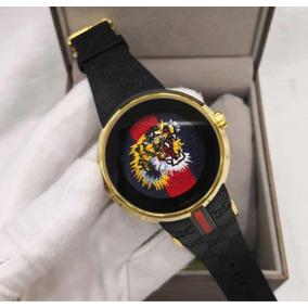 Relógio Gucci Tiger Preto Novo Original