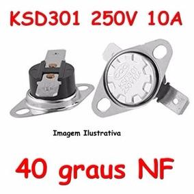 Termostato Ksd301 40 Graus Normal Fechado - Nf Nc