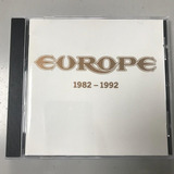 Cd Rock Metal The Best Of Europe 1982 1992 1993 Sony Epic