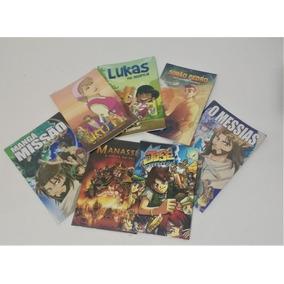 Col. Leiturinha Com 7 Livros De Histórias Em Quadrinhos