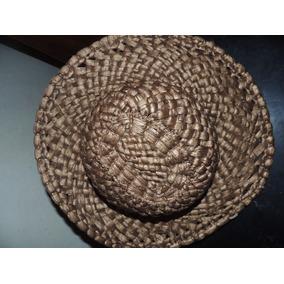 Sombrero Tejido A Mano Artesanal En Excelentes Condiciones 4e6610e39b2