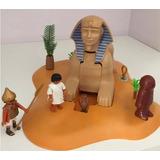 Playmobil 4242 Sphinx Com Mumia Esfinge Egito Completa