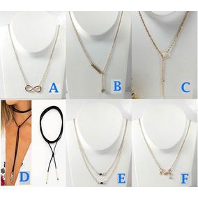 Collares Collar Dije Joyeria Bisuteria Mayoreo Baratos Moda