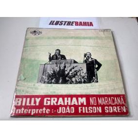 Lp Vinil Billy Graham No Maracanã Interpr. João Filson Soren