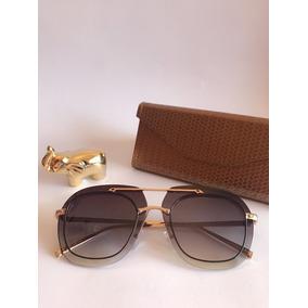 Óculos De Sol Feminino Hexagonal Verão 2019 a0147619fc