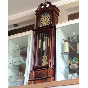 Relógio De Chão Pedestal Carrilhão Novo