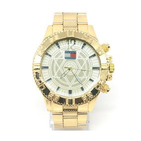 Relógio Tommy Hilfiger Dourado Modelo 600281