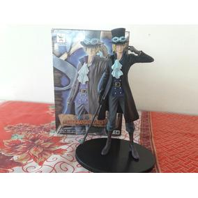 Boneco Action Figure Sabo (one Piece) Com A Caixa.