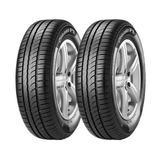 Combo X2 195/60r15 Pirelli Cinturato P 1 88h