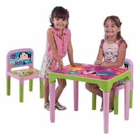 Mesa Show Da Luna Mesinha Infantil C/ 2 Cadeiras Multibrink