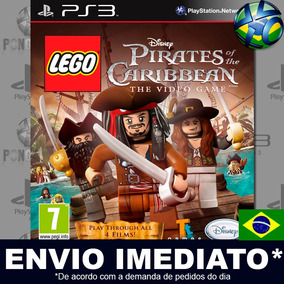 Lego Pirates Of The Caribbean Ps3 Midia Digital Psn