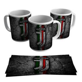 Caneca Juventus Juve Time Cr7 Futebol Italiano Escudo Brasão