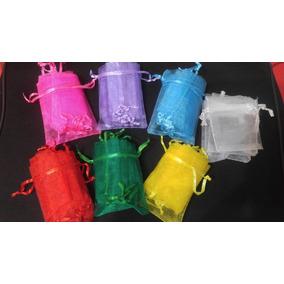 Bolsas De Organza 9x7 De Colores No Se Cobra Embalaje